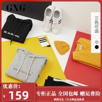 Sweater Youth fashion GXG Gray, black, white 165/S,185/XXL,190/XXXL,170/M,175/L,180/XL other Socket routine Hood autumn easy leisure time youth Basic public routine GY131277E Terry cloth Cotton 100% cotton other More than 95%
