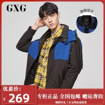 Jacket GXG Youth fashion black 165/S,170/M,175/L,180/XL,185/XXL,190/XXXL routine standard Other leisure autumn GY121337E Polyester 100% Long sleeves Wear out Detachable cap Youthful vigor youth routine Zipper placket Straight hem Closing sleeve other Zipper decoration polyester fiber More than 95%
