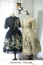 Lolita / soft girl / dress other Black, generative color M, S No season Customized