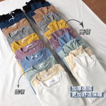 T-shirt Average size cotton 71% (inclusive) - 85% (inclusive)