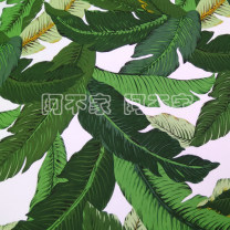 Fabric / fabric / handmade DIY fabric Others Half meter spot, 1 meter beat, quantity 2 Loose shear piece Plants and flowers printing and dyeing clothing Europe and America Banana leaf cotton fabric