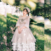 Dress Spring 2021 [Qinghuan OP] for pre-sale, and [Qinghuan OP top 500 for 168 only] for pre-sale S,M,L with puji Q2510