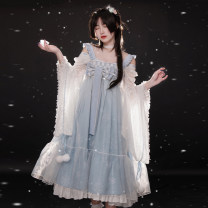 Dress Spring 2021 [bowknot], [jacket], [jsk + veil], [full set] free bowknot, [bowknot] pre-sale 2, [jacket] pre-sale 2, [jsk + veil] pre-sale 2, [full set] free bowknot pre-sale 2 S,M,L withpuji Q2484