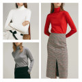 Wool knitwear Autumn of 2019 S,M,L White, gray, red, khaki Long sleeves singleton  Socket other More than 95% Regular Thin money street Self cultivation High collar routine Solid color Socket Europe and America