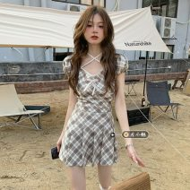 Fashion suit Summer 2021 S,M,L Top 11185, skirt 11186 18-25 years old