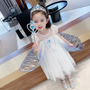 Dress Blue, pink female Other / other Cotton 85% others 15% summer Korean version Short sleeve other cotton other 12 months, 6 months, 9 months, 18 months, 2 years old, 3 years old, 4 years old, 5 years old, 6 years old, 7 years old, 8 years old Chinese Mainland Zhejiang Province