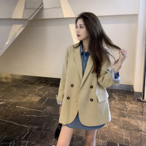 Fashion suit Spring 2021 S,M,L Blue shirt, khaki suit, black suit Other / other