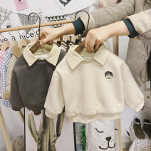 Sweater / sweater Mengmeng boxing neutral The recommended height is about 80cm for size 80, 90cm for Size 90, 100cm for size 100, 110cm for Size 110, 120cm for Size 120 and 125cm for Size 130 winter nothing Korean version Socket Plush No model cotton Cartoon animation Intradermal bile duct