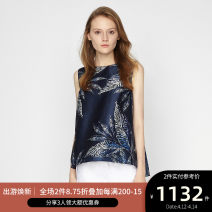 shirt NAVY PRINT 2,4,6,8,10 Summer of 2018 other 96% and above Sleeveless Original design Regular Crew neck Socket routine other 25-29 years old Ports LA8B078FPP019