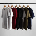 T-shirt Youth fashion routine Others Short sleeve Crew neck easy daily summer Cotton 100% teenagers routine tide Sweat cloth 2019 Solid color other cotton other Sanding More than 95%