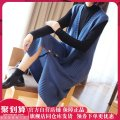 Wool knitwear Autumn of 2019 L,XL,XXL,3XL Black, blue Sleeveless singleton  Cardigan other More than 95% Medium length thick commute easy V-neck Solid color Single breasted Korean version 15-077-SXZY 35-39 years old Sxzy / up, down, left and right pocket