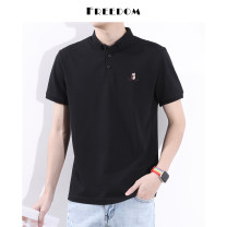 Polo shirt Other / other Youth fashion thin White, black, haze blue, smoked coffee M,L,XL,2XL,3XL standard Other leisure summer Short sleeve CB995 routine teenagers Cotton 70% polyester 25% polyurethane elastic fiber (spandex) 5% 2020
