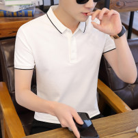 Polo shirt Other / other Youth fashion routine Army green, white, yellow, black, fog blue, light purplish red, dark green, brick red M,L,XL,2XL,3XL Self cultivation Other leisure summer Short sleeve MT002694 tide routine teenagers Polyester fiber 52% cotton 44% polyurethane elastic fiber (spandex) 4%