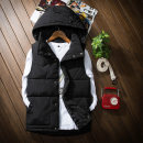 Vest / vest Youth fashion Others S,M,L,XL,2XL,3XL,4XL,5XL Black, red, dark blue, beige Other leisure Self cultivation Cotton vest thick autumn Detachable cap youth 2020 tide Solid color zipper Straight hem cotton Polyester 100% No iron treatment other Silk like cotton Brocade cotton More than 95%