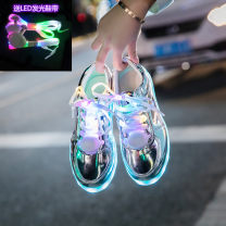 Low top shoes Other / other PU Frenulum Round head skate shoes Depravation The trend of youth Sports & Leisure Color matching Adhesive shoes Youth (18-40 years old), children (under 18 years old) fluorescence Low heel (1-3cm) cloth Korean version