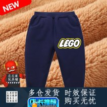 trousers Other / other neutral 90cm,100cm,110cm,120cm,130cm,140cm winter trousers leisure time Official pictures Plush trousers Leather belt middle-waisted cotton Don't open the crotch Cotton 35% others 65% Class B
