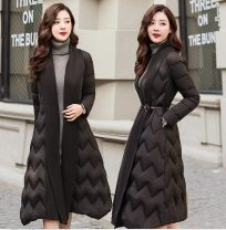Cotton padded clothes Black, Khaki M,L,XL,2XL Winter 2020 Other / other have more cash than can be accounted for Long sleeves routine other commute other routine Straight cylinder shape Korean version Pocket, lace up 81% (inclusive) - 90% (inclusive) Cellulose acetate Cotton 96% and above