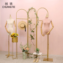 Clothing display rack Hj002 large gold barrel, gold foot, m screen, orange sunflower, mixed bouquet, imitation flower vine, small wooden frame (imitation marble), square base model, triangle base model, three piece set, five piece set a, four piece set B, six piece set, main picture set clothing iron