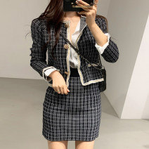 Fashion suit Autumn of 2019 Average size White, black 18-25 years old Other / other 71% (inclusive) - 80% (inclusive)