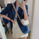 Fashion suit Summer 2020 Average size Blue T, skirt s, Skirt M, suit 18-25 years old