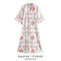 Dress Autumn 2020 Decor XS,S,M,L Short skirt singleton  Short sleeve street V-neck Decor Socket raglan sleeve Splicing Europe and America