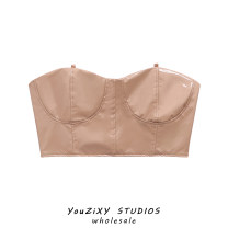 undergarment covering the chest and abdomen Autumn 2020 S,M,L Nude color singleton  have cash less than that is registered in the accounts street Self cultivation Solid color other Europe and America