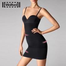 Body shaping pants Wolford / wolfford 4504 pink 7005 black XS-B S-B M-B L-B S-C M-C L-C S-D Summer of 2018 Polyamide fiber (nylon) 45% cotton 29% polyurethane elastic fiber (spandex) 26%