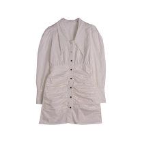 Dress Summer 2021 White, blue Average size More than 95%
