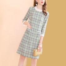 Dress Autumn of 2019 Decor S,M,L,XL,2XL