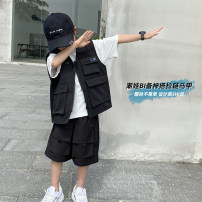 Vest male black 110cm,120cm,130cm,140cm,150cm,160cm Haima house spring and autumn routine There are models in the real shooting zipper Korean version polyester fiber Solid color Polyethylene terephthalate (polyester) 100% 21ag02 Class B other Chinese Mainland 2, 3, 4, 5, 6, 7, 8, 9, 10, 11
