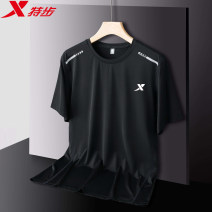 Sports T-shirt XTEP / Tebu M,L,XL,2XL,3XL,4XL,5XL,6XL,7XL,8XL Short sleeve For men and women Crew neck TB999 Black male, white male, gray male, blue male, white female, pink female, purple female easy Moisture absorption, perspiration, quick drying, super light, breathable Summer 2021 Life Series