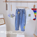 trousers Other / other female Size 7 (recommended height is about 110cm), size 9 (recommended height is about 120cm), size 11 (recommended height is about 130cm), size 13 (recommended height is about 140cm), size 15 (recommended height is about 150cm), size 17 (recommended height is about 160cm)