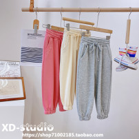 trousers Other / other female 110 (recommended height is about 110cm), 120 (recommended height is about 120cm), 130 (recommended height is about 130cm), 140 (recommended height is about 140cm), 150 (recommended height is about 150cm), 160 (recommended height is about 155cm) spring and autumn No model