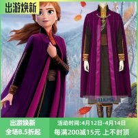 Cosplay women's wear suit Customized Over 14 years old Women's full set (excluding shoes): 980, shoes (note foot length): 180, Cape: 350, dress: 450, pants: 160, bag: 80, belt: 40 Movies Xs, s, m, l, XL, XXL, XXXL, customized Miles / all over the sky Europe and America Ice and snow 2