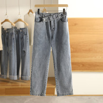 Jeans Spring 2021 Denim blue, denim black S,M,L,XL,XXL trousers routine 1K22130 Other / other 96% and above