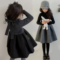 Dress female Other / other 100cm,110cm,120cm,130cm,140cm,150cm Cotton 100% spring and autumn Korean version other Pleats Class B
