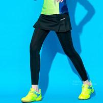 Badminton wear 1708a nine point skirt, 1709 pleated nine point skirt, seven point A-line skirt, seven point pleated skirt, 2011 nine point small pleated skirt, 2007 men's trousers, 2007 Women's trousers female M. L, XL, XXL, XXXL, larger Beautiful and cool Lower garment