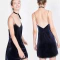 Vest sling Spring 2020 Blue, black singleton  Medium length easy commute camisole Solid color 25-29 years old 81% (inclusive) - 90% (inclusive) other 9023# Other / other 201g / m ^ 2 (including) - 250G / m ^ 2 (including)