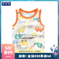 Vest sling Sleeveless 73 80 90 100 110 120 summer Baby Hall neutral No model leisure time Cartoon animation Crew neck nothing Pure cotton (95% and above) Cotton 100% Class A Summer of 2019 12 months 18 months 2 years 3 years 4 years 5 years 6 months 9 months