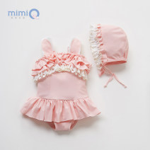 Bathing suit 80cm【12M】 90cm【2T】 100cm【3T】 110cm【4T】 120cm【5T】 Other 100% Pink + Cap Pink + cap + goggles Mimi, Miki BB00255 Summer of 2019 Chinese Mainland 12 months 18 months 2 years 3 years 4 years 5 years old Shanghai Shanghai