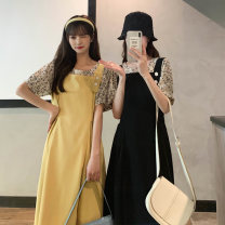 Fashion suit Summer 2021 Average size Black suit, yellow suit 18-25 years old 55068M 51% (inclusive) - 70% (inclusive) polyester fiber
