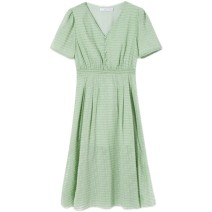 Dress Summer 2021 green S,M,L