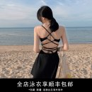 one piece  Durant swimsuit S,M,L,XS,XL black Skirt one piece With chest pad without steel support nylon KLT20202 female Sleeveless Casual swimsuit Solid color bow