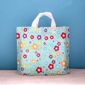 Gift bag / plastic bag green 50 in a bag