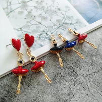 Other DIY accessories Other accessories Alloy / silver / gold RMB 1.00-9.99 Red ballet girl (1) Black Ballet Girl (1) blue ballet girl (1) brand new