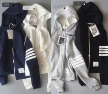 Sweater / sweater Autumn of 2018 White, gray, dark blue, black M,L,XL,2XL Long sleeves routine Cardigan singleton  Hood routine