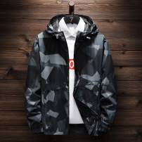 Sports jacket / jacket Li Ningdong male Private brand Black, red, white Spring 2021 Hood zipper Sports & Leisure Men's jacket
