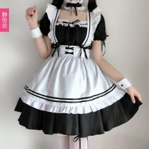 National costume / stage costume Autumn 2020 7-piece suit, white thigh stockings, white panty stockings, 4-layer hard yarn skirt support S,M,L,XL,XXL,3XL,4XL,5XL J002 Jingyuefang 96% and above