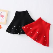 skirt 110cm,120cm,130cm,140cm,150cm,160cm,170cm Other / other female Cotton 90% polyurethane elastic fiber (spandex) 10% No season skirt princess Solid color other cotton Beaded skirt Class B