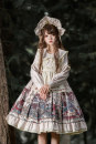 Dress Winter 2020 S,M,L Mid length dress Three piece set Long sleeves Sweet High waist Princess Dress routine Others 18-24 years old Type A Lolita